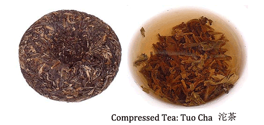 chinese compressed tea tuo cha