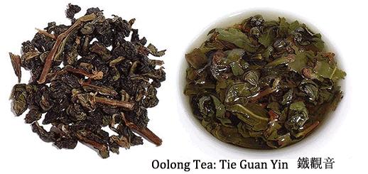 chinese oolong tea tie guan yin