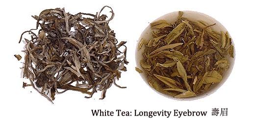 chinese white tea shou mei